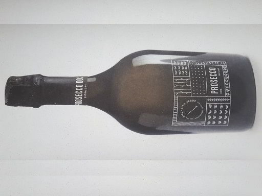 Bottiglia prosecco picchetto verde