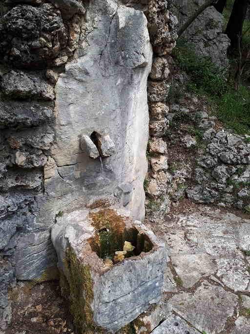Fontana sul Monte Calvario