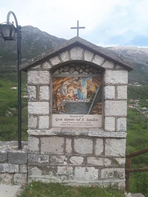 Una stazione della Via Crucis