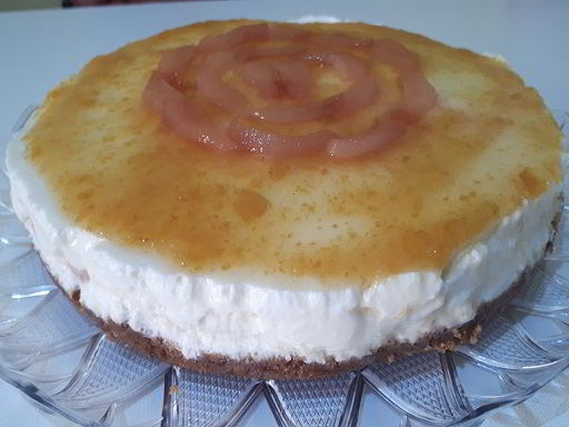 Cheesecake ricetta ricotta e pera
