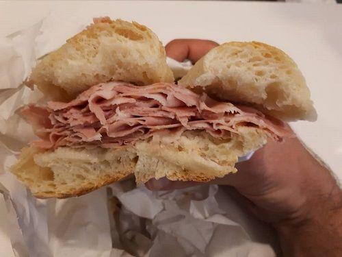 Dettaglio panino